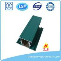 Buy cheap Aluminium Profile Square Hollow Aluminum Alloy Plate, Green Painted from wholesalers