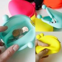Quality wallet&bag BPA Free Silicone coin purse wholesale