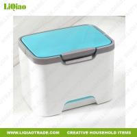 China Other living goods Multi-function portable plastic storage box with folding handle on sale