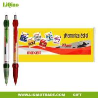 Quality Advertising promotion Plastic Banner pen /pull painting ball-point pen for promotion wholesale