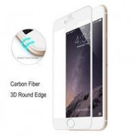 Buy cheap Carbon Fiber 3D Round Edge Screen Protector Tempered Glass For iPhone 6/6s from wholesalers