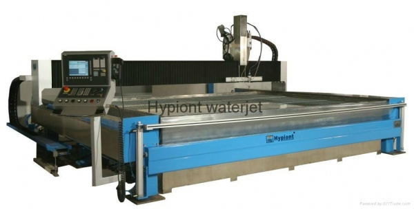 China Hypiont 3060B CNC waterjet cutting system