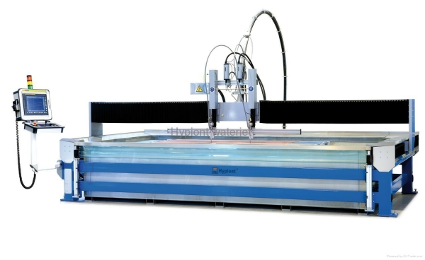 China Hypiont 4020B CNC waterjet cutting system