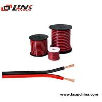 Buy cheap red black speaker cable from wholesalers