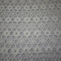 China chemical lace embroidery chemical lace embroidery fabric-CLE001 on sale