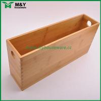 Quality MY2-6031 Bamboo Storage Organizer with Handle wholesale