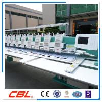 Quality Model:CBL 15 heads 9 needles flat computer embroidery machine hot sale in China wholesale