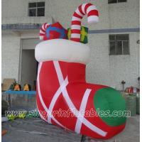 China Lighting Decorations Christmas sock for yard decorations on sale