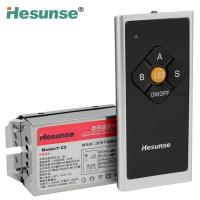 Quality 2 way microcomputer remote control switch with the wall switch function wholesale