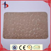 China Microfiber memory foam non slip bath tub mat on sale