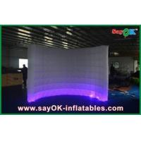 Automatic Led Inflatable Photo Booth , Party Decorative Photobooth Kiosk
