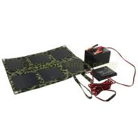 Quality Portable Folding Solar Panel Charger Bag 18 Watt Folding Solar Panel Battery Charger 12V wholesale