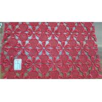 hydrotropic embroider lace fabric