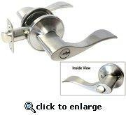 Cheap Satin Nickel Entrance Lever - Style: 838 for sale