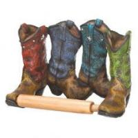 Quality COWBOY BOOTS TOILET PAPER HOLDER wholesale