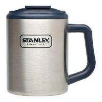 Quality Cooking Stanley 20 Oz Navy Adventure Stainless Steel Double Wall Camp Mug wholesale