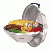 """Quality Cooking Magma Marine Hinged Lid Kettle Charcoal Grill Party Size 17"""" wholesale"""