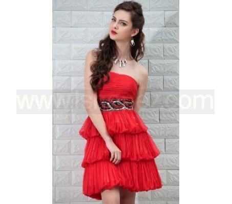 Cheap Red Cocktail Dresses Sale 98