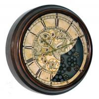 China Moving wheel gear clock on sale