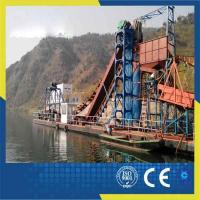 Quality Gold Dredger 120m3/h Chain Bucket Dredger wholesale