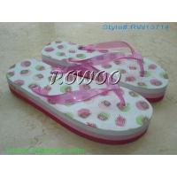 Buy cheap PVC Girl Flat Slipper RW13714 from wholesalers