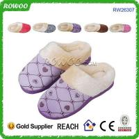 Quality high quality cotton indoor winter slippers wholesale