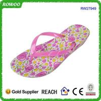Buy cheap Custom made sandal blue pcu men sandal slipper from wholesalers
