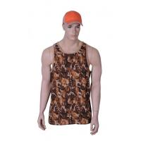 Buy cheap Camouflage outerwear Camouflage cotton jersey vest from wholesalers