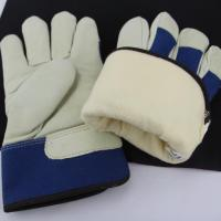 China Full Lining For Industry Use To Keep Hands Warm Winter Cow Best Gloves Lining Leather Gloves on sale