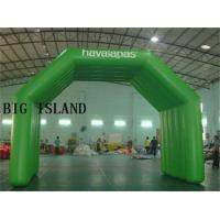 Quality New 26 Foot Full Green Air Sealed Welding Inflatable Arch Tent Details wholesale