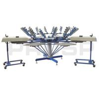 Buy cheap T-shirt Carousel Screen Printing Machine from wholesalers