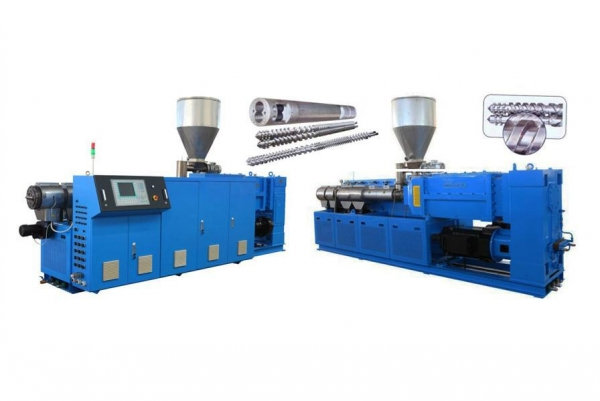 Cheap Plastics Machinery Counter Rotation Twin-Screw Extruder for sale