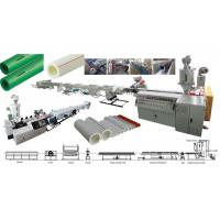 Buy cheap Plastics Machinery PPR Pipe Extrusion Line PPR from wholesalers