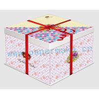 China New Arrivals food boxes-DIY folding birthday cake boxes YC-LY-50 on sale