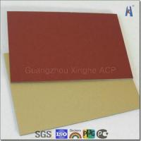 Buy cheap brush finish series aluminum composite panel from wholesalers
