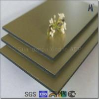 Buy cheap acp factory brush aluminum composite panel building finish material from wholesalers