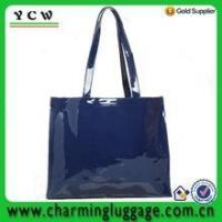 China PVC shopping bag plastic shopping bags wholesale on sale