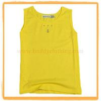 Sleeveless Crew Neck Tank Top 002