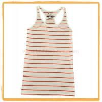 Quality Srtipe Racerback Tank Top 003 wholesale