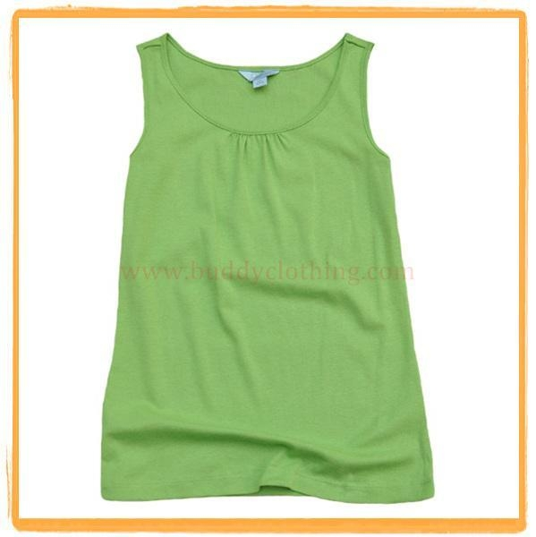 Cheap Cotton Sleeveless Tank Top 009 for sale
