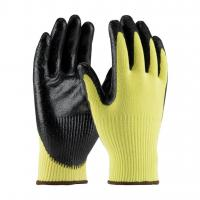 Quality Smooth Nitrile Coated Kevlar Cut Resistant Glove Level 3 wholesale