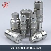 China Flat Face Type Hydraulic Quick Coupler(ISO16028) on sale