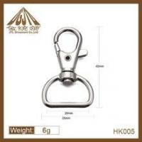 Quality Fashion high quality zinc alloy key chain hooks wholesale