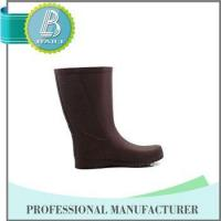 Quality Famouse Brand Customised designs 100% Natural Rubber rain boots men wholesale