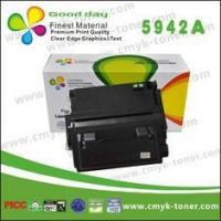 Buy cheap With chip / Q5942A black toner cartridge for HP LaserJet 4240 4250 4350 series from wholesalers