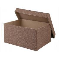 Quality Gift Box Fancy New Style Cube Recycled Handle Kraft & White Cube Gift Boxes wholesale