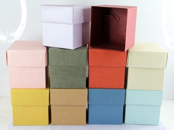 Cheap Gift Box Elegant And Graceful Various Designs Cube Boxes For Candy for sale