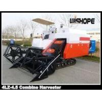 Quality Wishope 4LZ-4.5 combine harvester wholesale