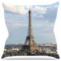 "Philip Brown ""Eiffel Tower"" Throw Sofa Cushions 16''*16''"