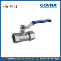 Quality DL1132 Brass Ball Valve with Connector wholesale